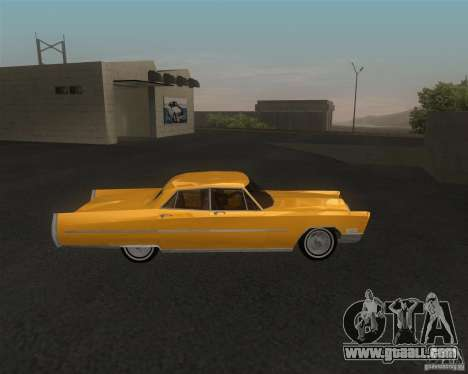 Cadillac Fleetwood Sixty Special 1967 for GTA San Andreas back left view
