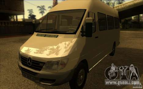 Mercedes Benz Sprinter 315 CDI for GTA San Andreas