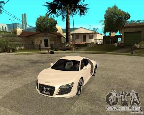 Audi R8 light tunable for GTA San Andreas