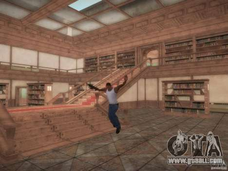 Library-map of Point Blank for GTA San Andreas