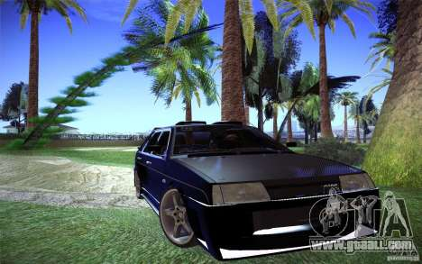 VAZ 2109 Carbon for GTA San Andreas right view