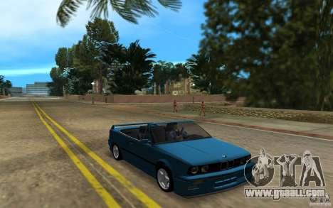 BMW M3 E30 Cabrio for GTA Vice City left view