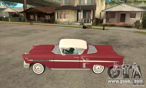 Chevrolet Impala 1958 for GTA San Andreas left view