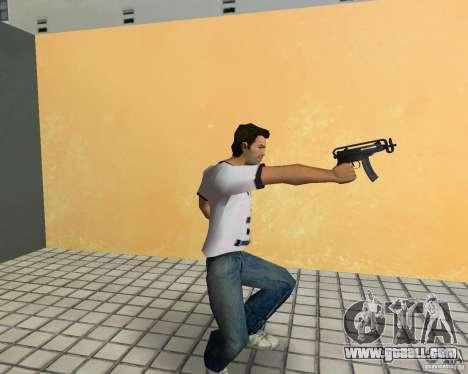 Vz-61 Skorpion for GTA Vice City third screenshot