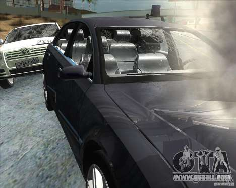 Audi A8L W12 for GTA San Andreas side view