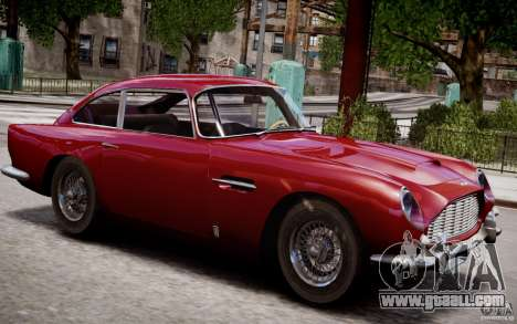 Aston Martin DB5 1964 for GTA 4 engine