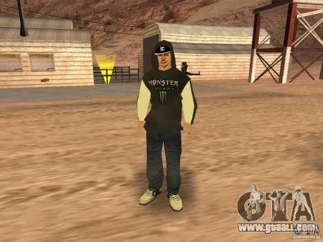 Ken Block Family for GTA San Andreas fifth screenshot