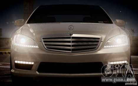 Mercedes-Benz S65 AMG 2012 v2.0 for GTA 4