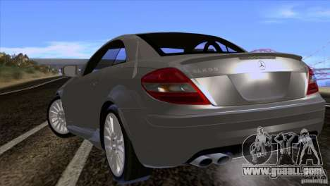Mercedes-Benz SLK 55 AMG for GTA San Andreas right view