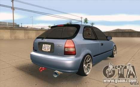 Honda Civic EK9 JDM v1.0 for GTA San Andreas side view