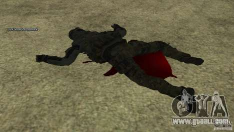 Roach from CoD MW2 for GTA San Andreas fifth screenshot