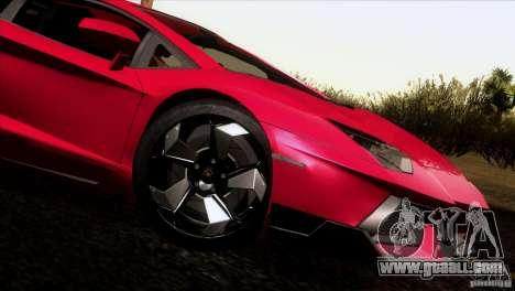 Lamborghini Aventador LP-700 J for GTA San Andreas left view