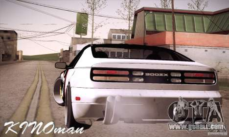 Nissan 300ZX Z32 for GTA San Andreas left view
