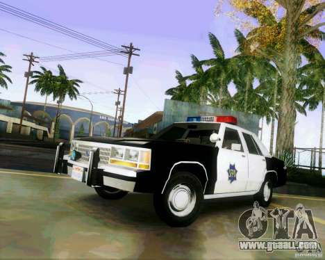 Ford Crown Victoria LTD 1991 SFPD for GTA San Andreas