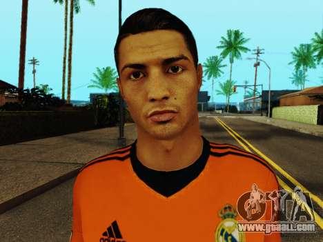 Cristiano Ronaldo v3 for GTA San Andreas sixth screenshot