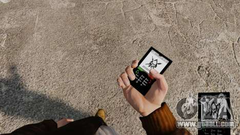 The theme of Mercenaries 2 for mobile phones for GTA 4 second screenshot