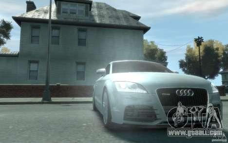 Audi TT-RS for GTA 4 back view