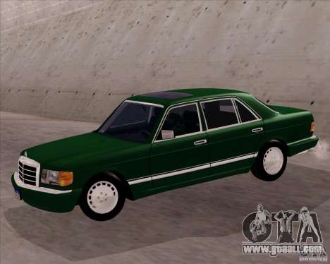 Mercedes-Benz 500SEL for GTA San Andreas