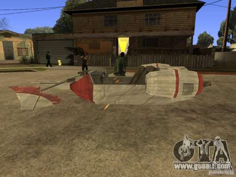 Baggage from Star Wars for GTA San Andreas right view