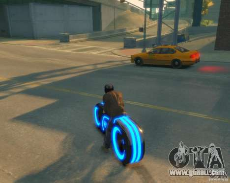 Motorcycle of the Throne (blue neon) for GTA 4