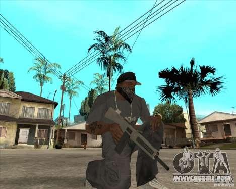Atchisson assault shotgun (AA-12) for GTA San Andreas third screenshot
