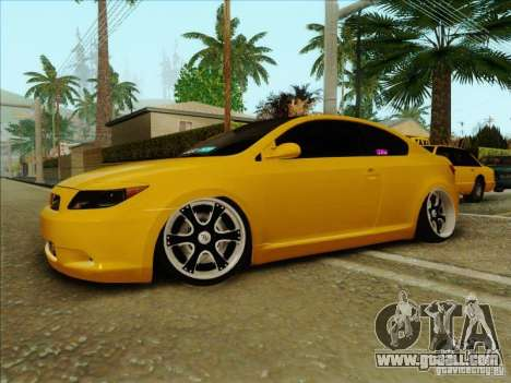 Scion tC 2012 for GTA San Andreas right view