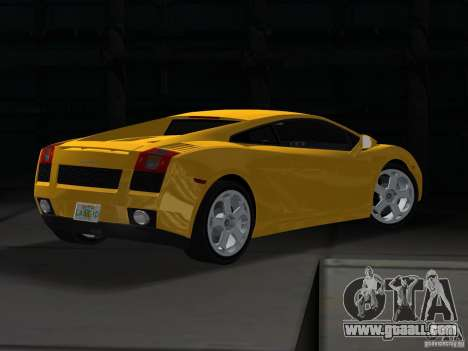 Lamborghini Gallardo for GTA Vice City left view