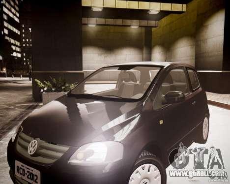 Volkswagen Fox 2011 for GTA 4 right view