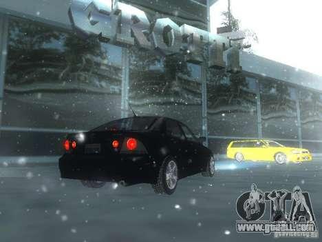 Lexus IS300 for GTA San Andreas engine