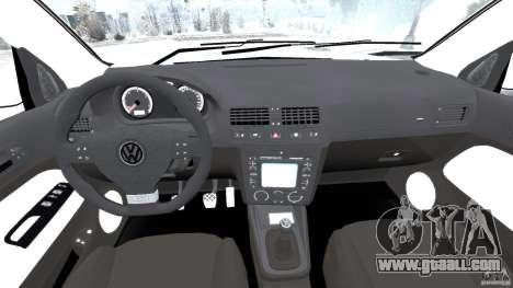 Volkswagen Golf Sportline 2011 for GTA 4 back view