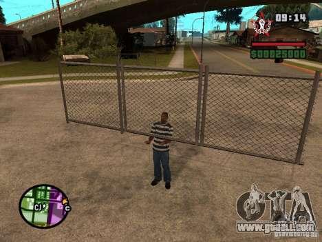 CJ-Kleptomaniac for GTA San Andreas forth screenshot