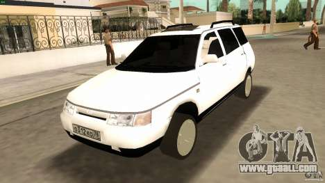 VAZ 2111 for GTA Vice City inner view