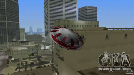 Ultimate Flying Object for GTA Vice City left view