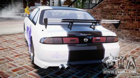 Nissan Silvia S14 [EPM] for GTA 4 back left view