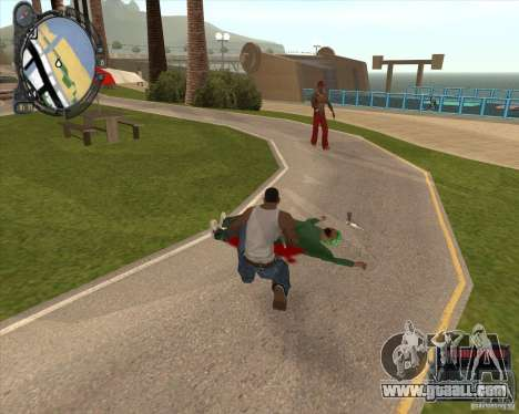 Real Weapons Drop Mod beta for GTA San Andreas