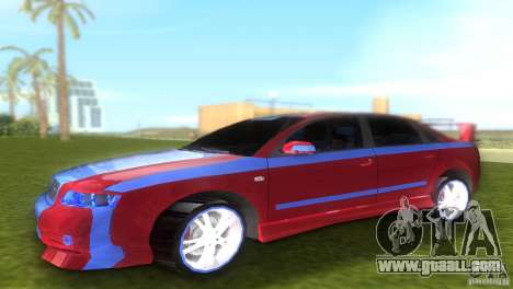Audi A4 STREET RACING EDITION for GTA Vice City left view