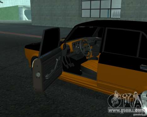VAZ 21053 tuning for GTA San Andreas back left view
