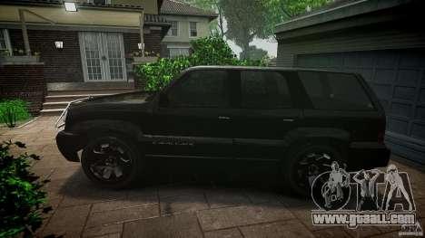 Cavalcade FBI car for GTA 4 left view
