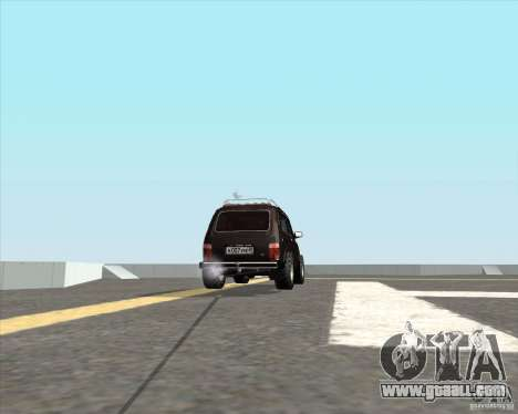 VAZ 21213 Offroad for GTA San Andreas back left view