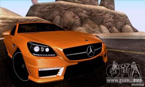 Mercedes Benz SLK55 R172 AMG for GTA San Andreas