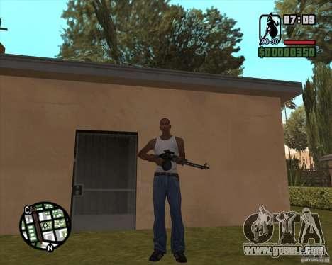The RPK-74 for GTA San Andreas third screenshot