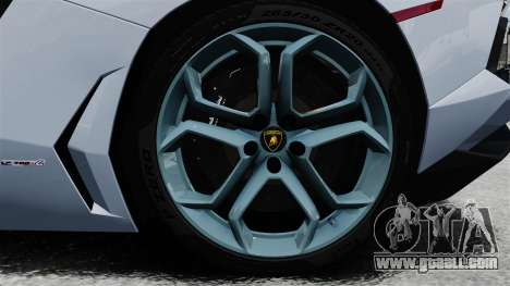 Lamborghini Aventador LP700-4 2012 v2.0 EPM for GTA 4 back view