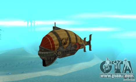 Airship of TimeShift for GTA San Andreas