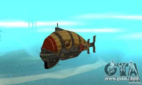 Airship of TimeShift for GTA San Andreas