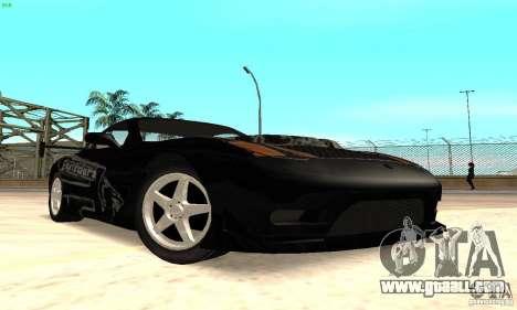 Mazda RX7 Tuned for GTA San Andreas left view