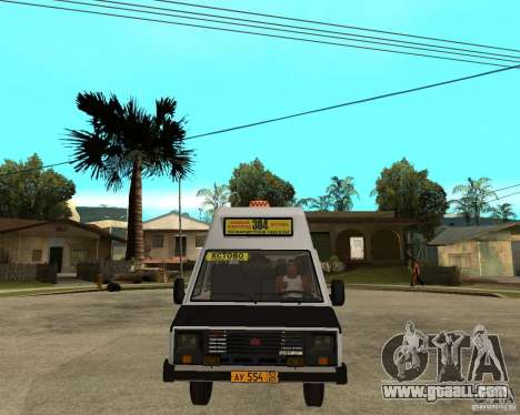 RAPH 22038 taxi for GTA San Andreas back view