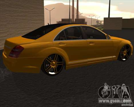 Mercedes Benz S600 Panorama by ALM6RFY for GTA San Andreas left view