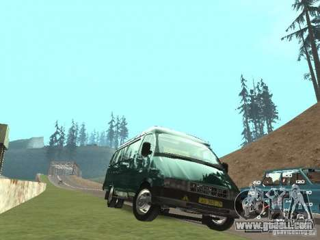 GAZ 32213 for GTA San Andreas