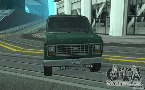 Ford E-150 Short Version v4 for GTA San Andreas side view