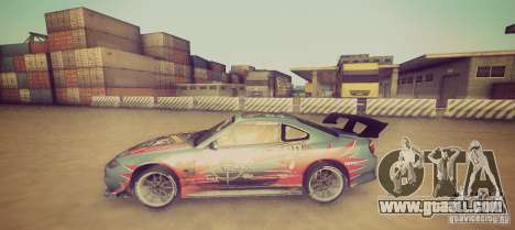 Tokyo Drift map for GTA San Andreas third screenshot
